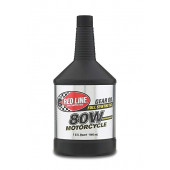Red Line 80W Motorcycle Gear Oil with ShockProof
